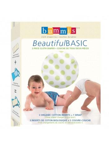 Bummis BeautifulBASIC 2-Piece Cloth Diaper